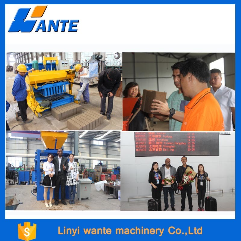 Qt6-15c Concrete Brickwall Making Machine, Automatic Paver Block Machine