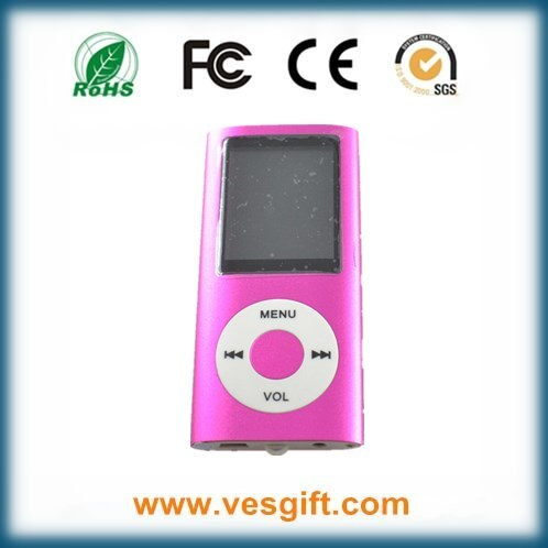8GB Hot Sale Promotional Gift 1.8 Inch MP4 Player with Screen