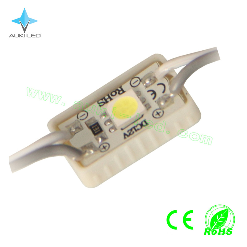 Mini 1-LEDs SMD5050 Glueing Module for Advertising Sign