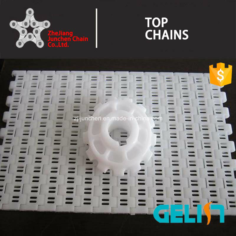 900 B-2 Series Packing Machine Plastic Mash Chain Conveyor Belt for Food