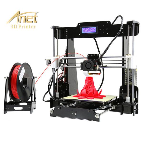 Anet A8 Newest High Quality DIY Fdm Desktop 3D Printer From Anet Factory