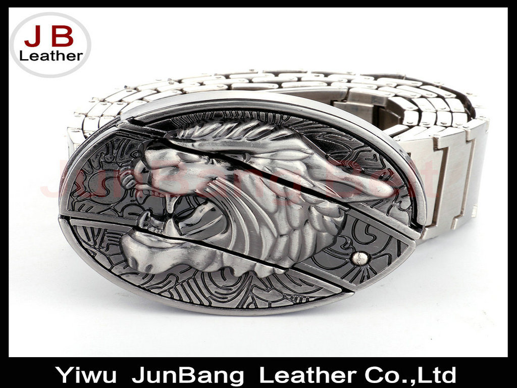 Wolf Culture Personality Metal Belt