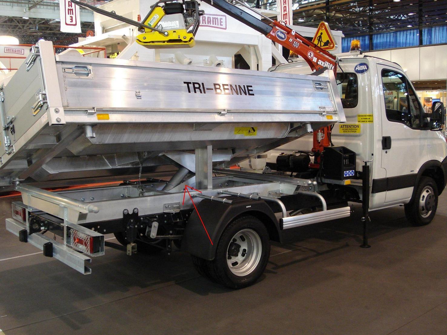 3000psi Hydraulic Cylinder for USA Dump Truck (Hydraulic Hoist)