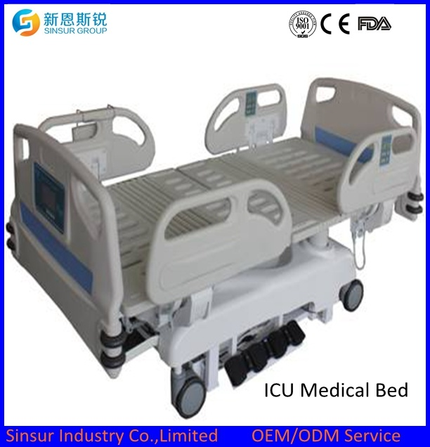 High Quality Electric Medical/Hospital/Nursing Bed/ICU Bed