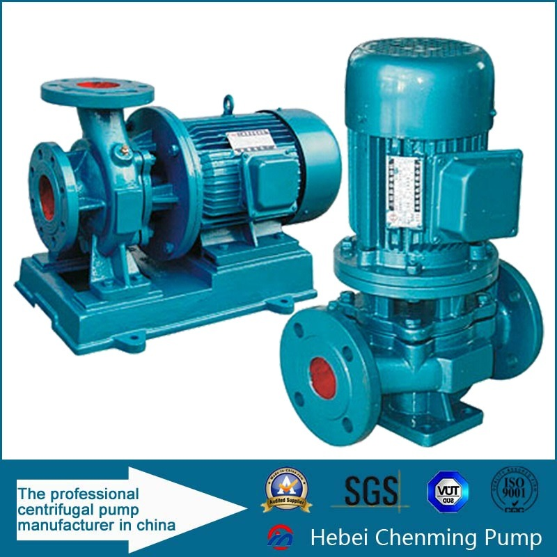 High Temperature Electric Vertical Sea Water Inline Pump