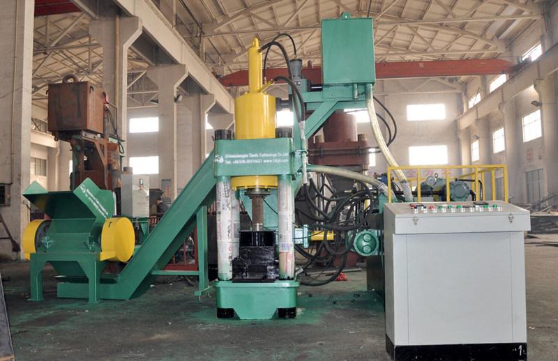 Y83-4000 Vertical Iron Press Briquetting Machine
