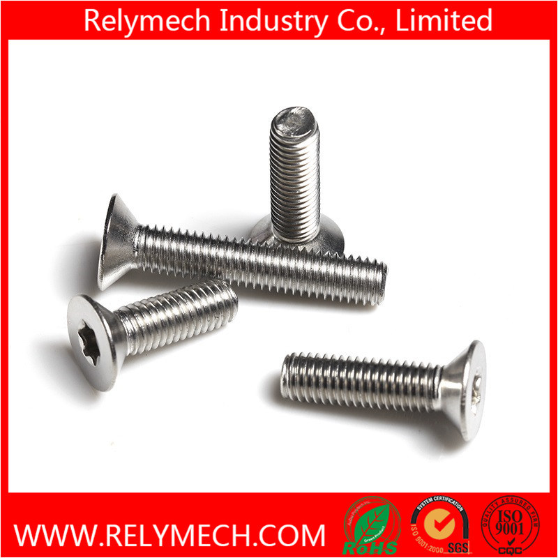 Countersunk Plum Flower Head Machine Screw in Stainless Steel 304