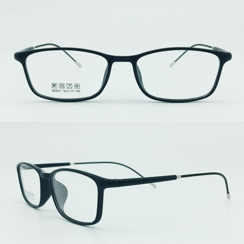 Factory Sell Super Light Half Plastic Steel Fashion New Design Optical Frames Glasses Eyewear
