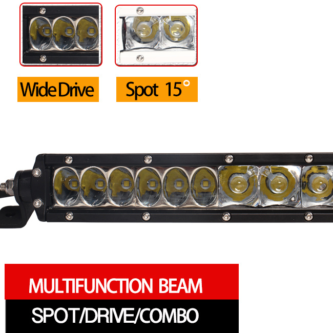 Offroad LED Light Bar (10inch, Drive beam, Waterproof IP68)