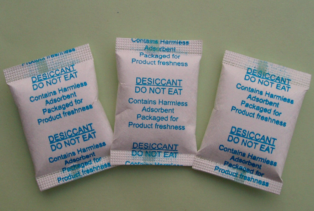 1 Gram Silica Gel Desiccant in Tyvek Bag (pillow bag, DSG1T-B)