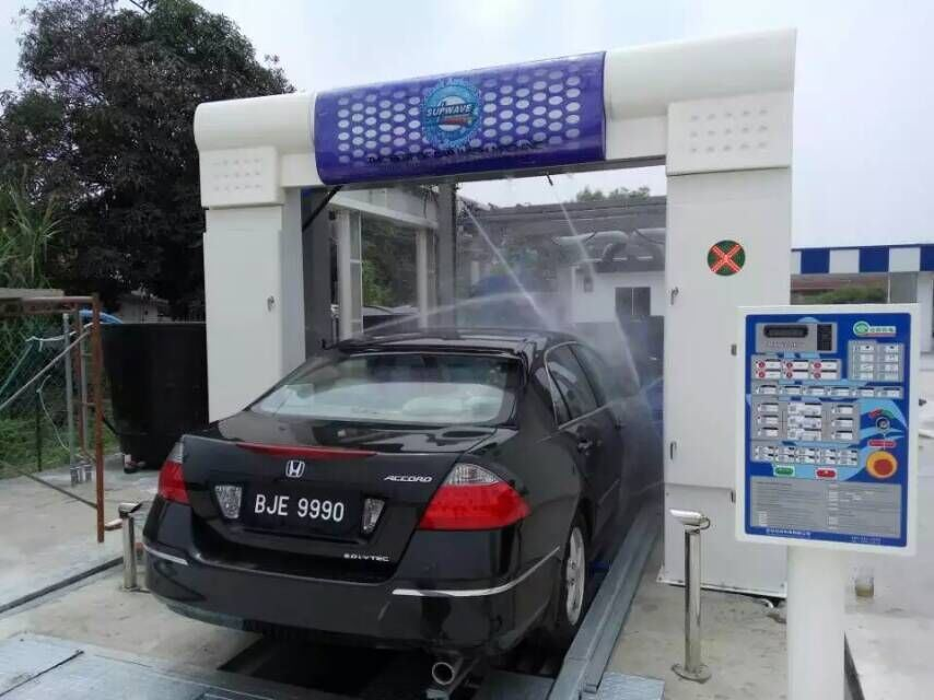 Professional Quality for Automatic Car Washing Equipment Machine Price with Nine Brushes for Chile Carwash Business