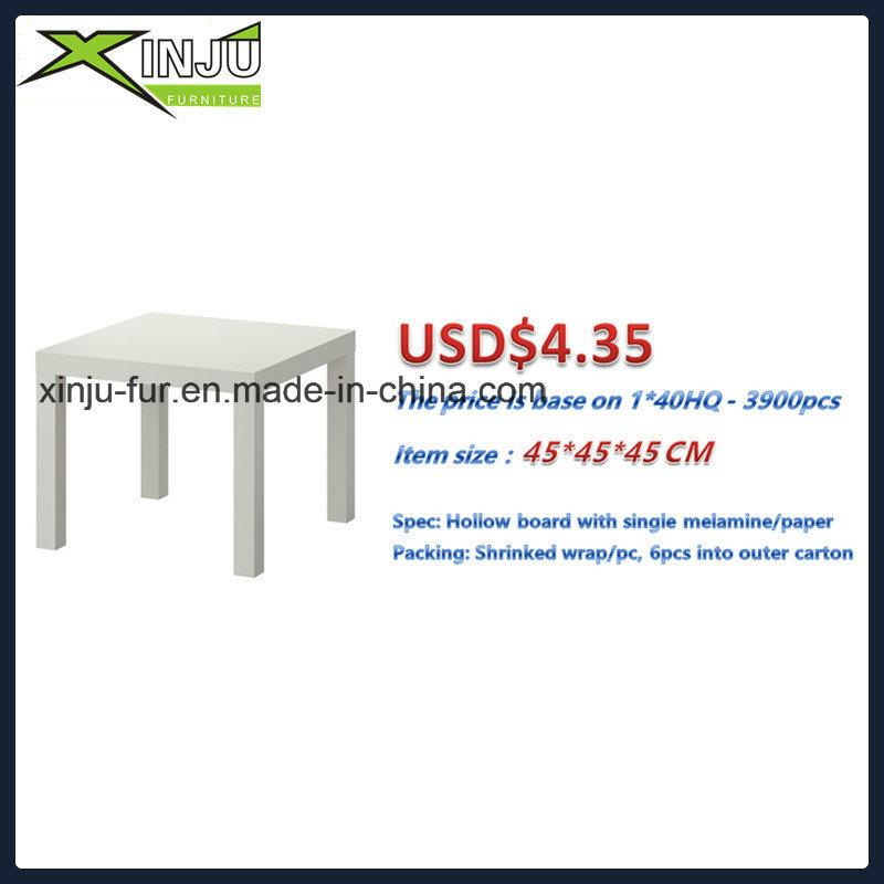 Modern Wooden Side Coffee Table (Ikea side table)
