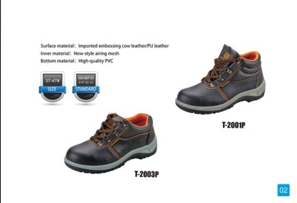 High Quality Safety Shoes with Nubuck and Steel Toe