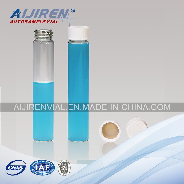 60ml Clear Glass EPA Vial VOA Vial Storage Vial