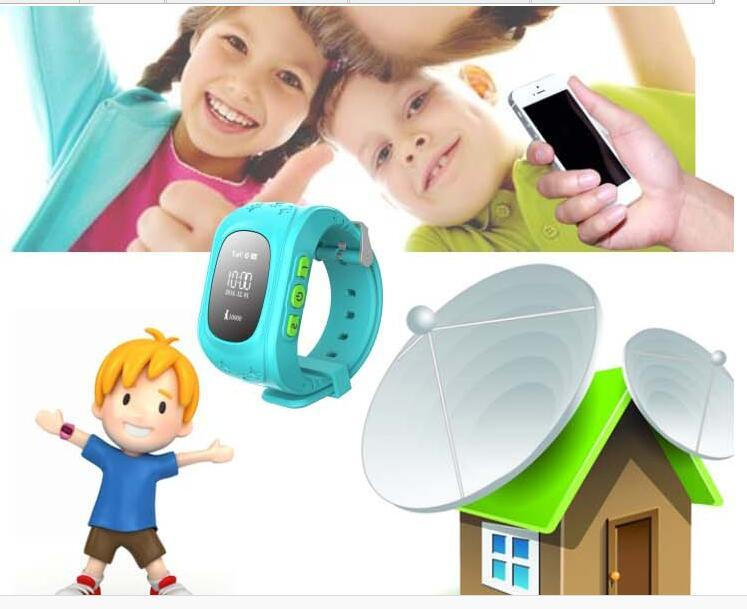 China Kids GPS Tracking Anti-Lost Smart Watch Sos Watch GPS Tracker Device