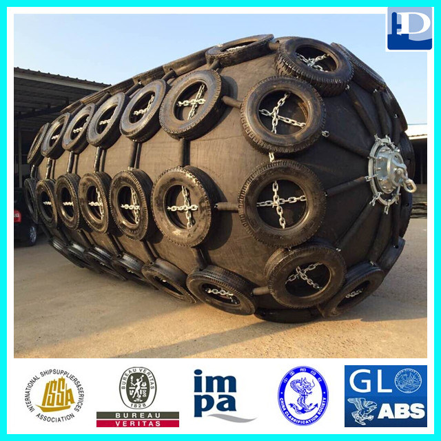 Yokohama Type Ship Floating Pneumatic Rubber Marine Fender