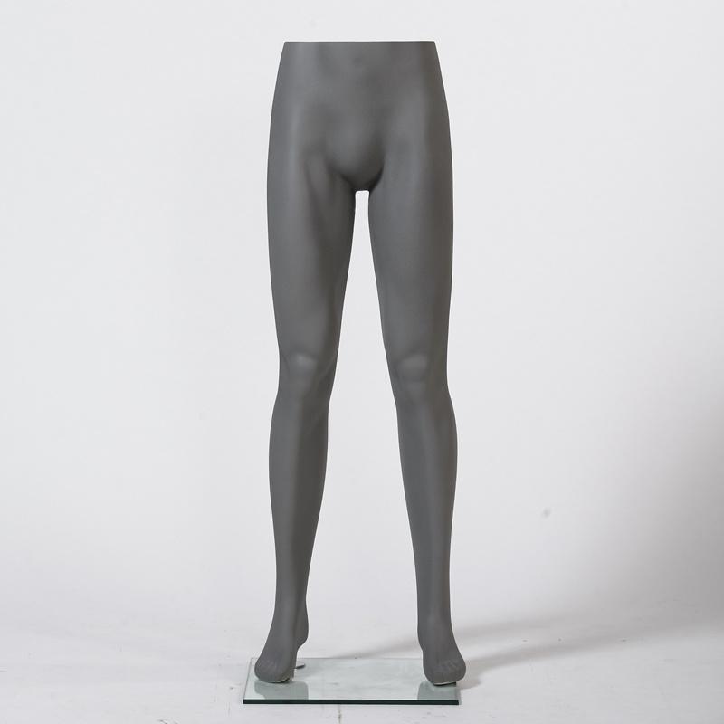 Dark Grey Male Pants Mannequin for Window Display