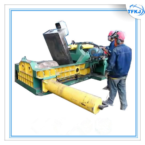 Waste Metal Beer Can Baling Machine