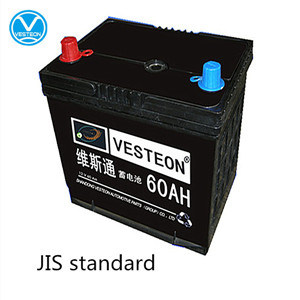 China Auto Truck Car Battery (12V 60ah)