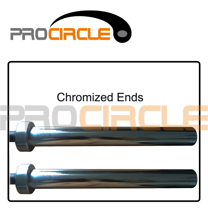 Top Grade Crossfit Barbell with Bearings Black Professional Olympic Bar (PC-OB100-1002)
