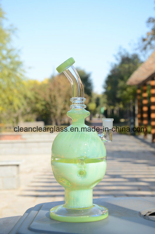 New USA Color Fab Egg Glass Water Pipe Smokng Pipe