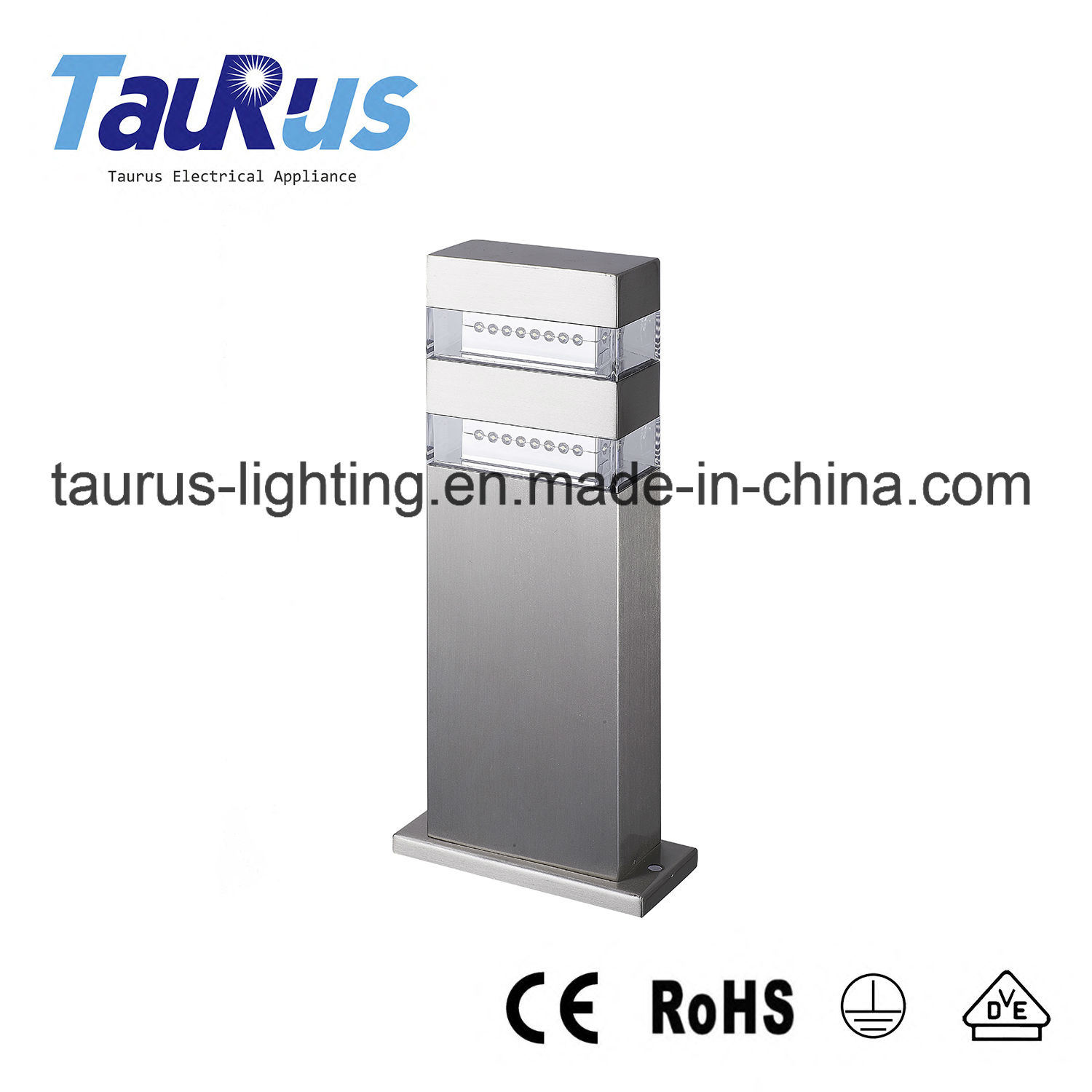 2.4W White LED Stainless Steel Outdoor Lighting (5502B-300)