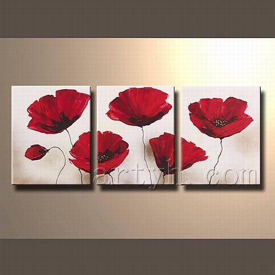 china modern flower canvas wall art china flower canvas. Black Bedroom Furniture Sets. Home Design Ideas