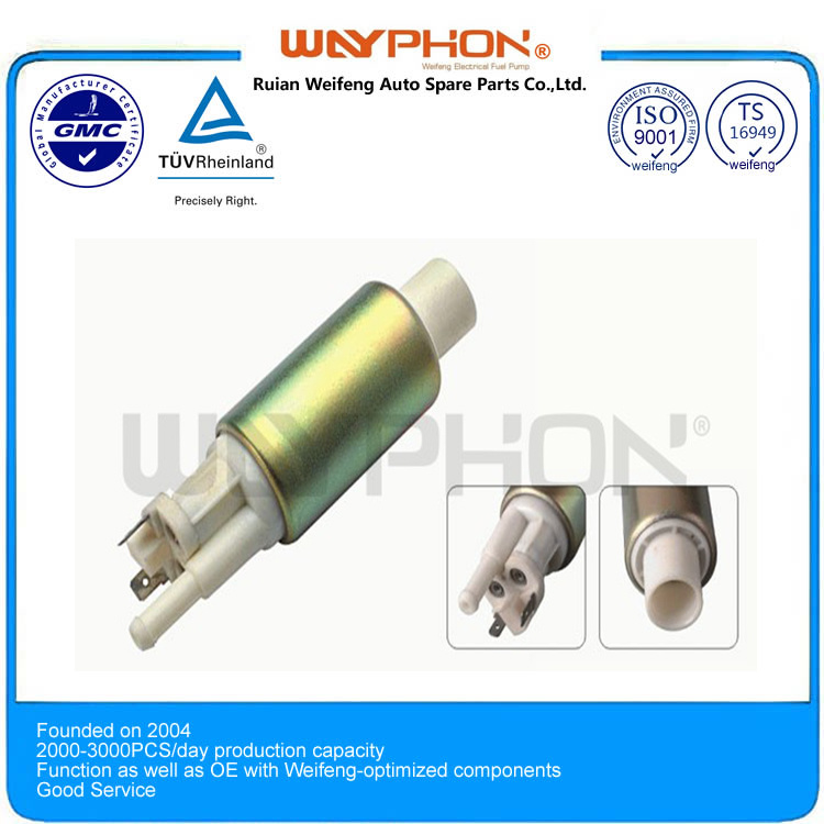 Electric Fuel Pump for E10222 Daewoo Peugeot with WF-3612