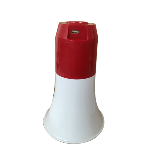Handheld Lithium Cell Megaphone with LED Support USB
