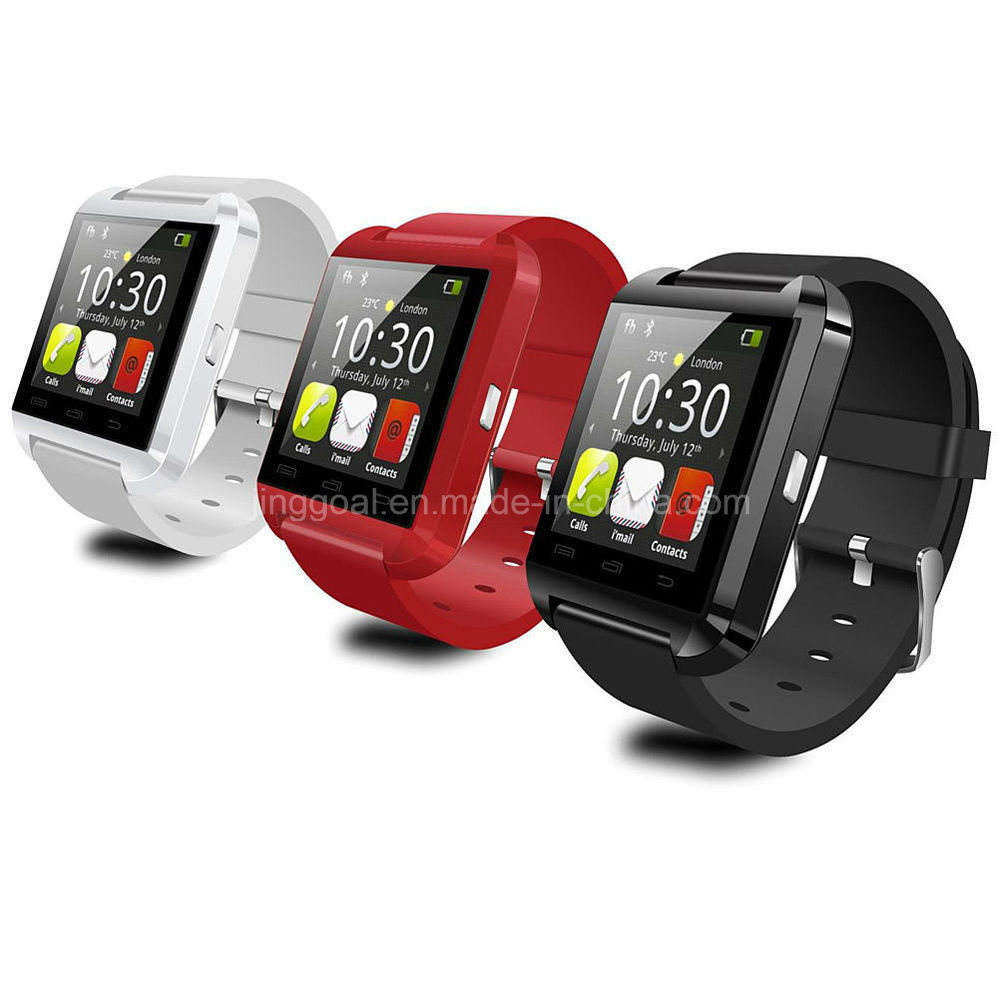 Cheap Anti Lost Alarm Bluetooth Android Wrist Smartwatch U8