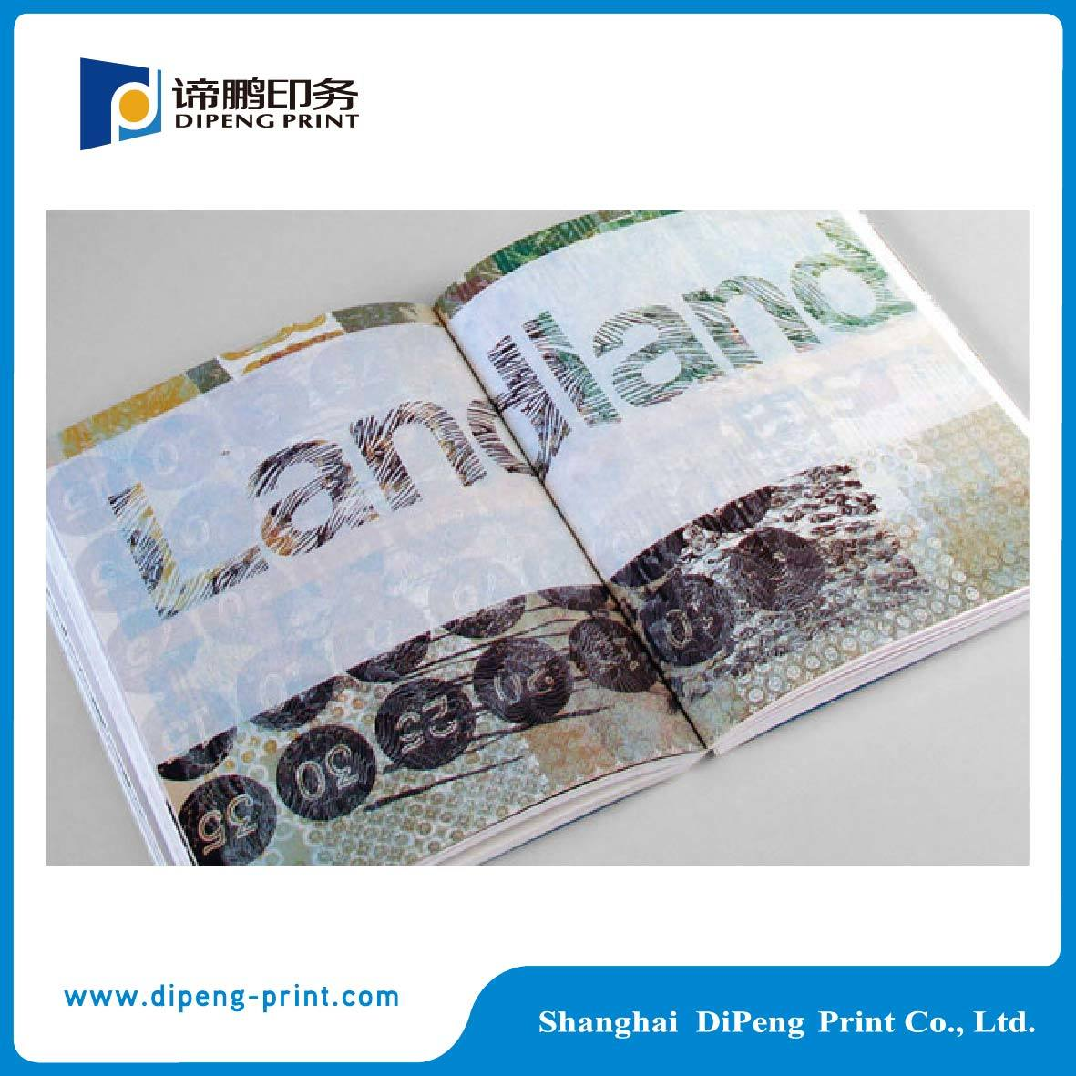 China Supplier Perfect Binding Four Color Catalogue Printing