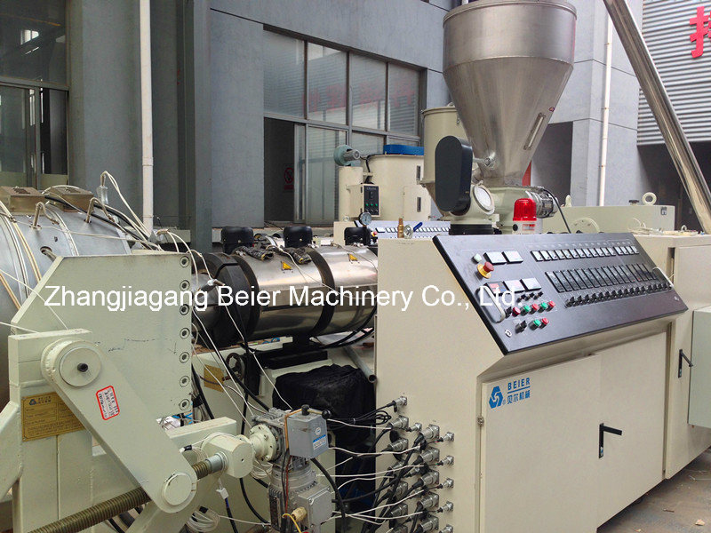 PVC Pipe Plastic Conical Twin Screw Extruder/Extrusion Machine