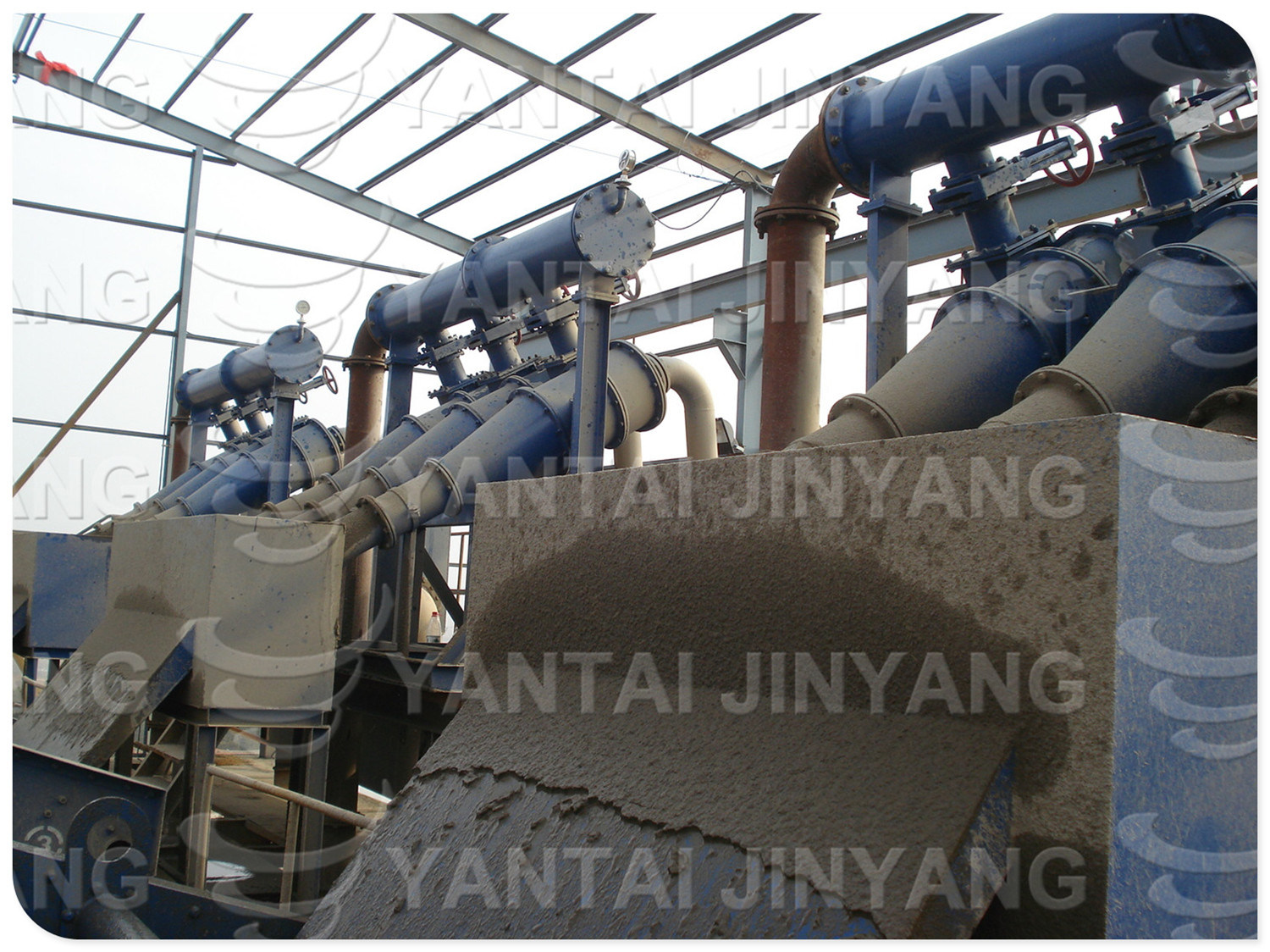 Primary/Frst Stage High Fineness Classifying Mining Hydrocyclone
