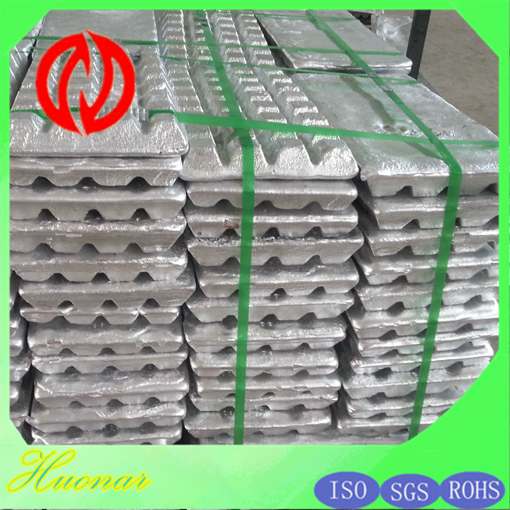 Az31 Az61 Az63 Az91 Am50 Am60 High Purity Magnesium Alloy Ingot 99.0%Min to 99.8%Max Mg9990 / Mg9995