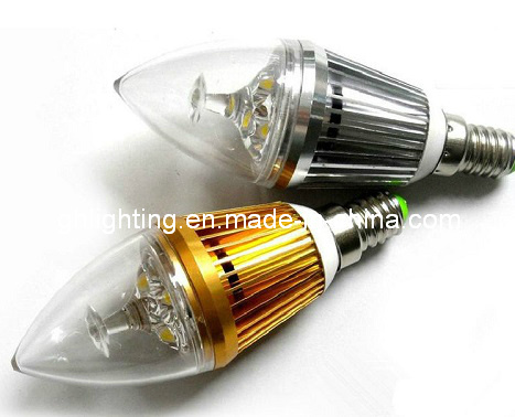 Hot Sales 3W LED Candle (GH-LZD-01)