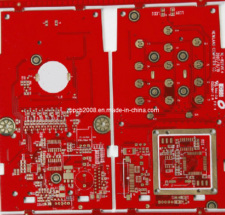 2016 High Quality Red Soldermask Immersion Gold PCB