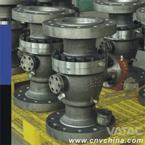 Vatac Cast & Forged Trunnion Ball Valve