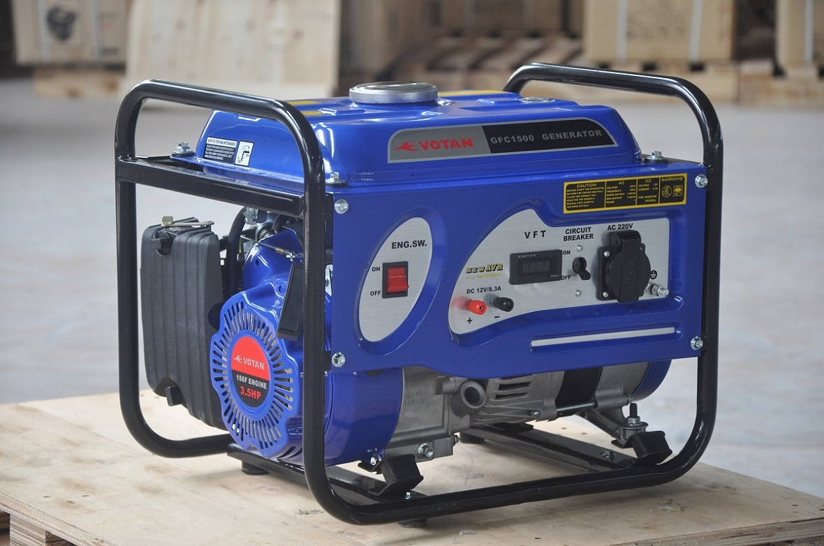 Portable 4-Stroke Gasoline Generator 1kw, Honda Style