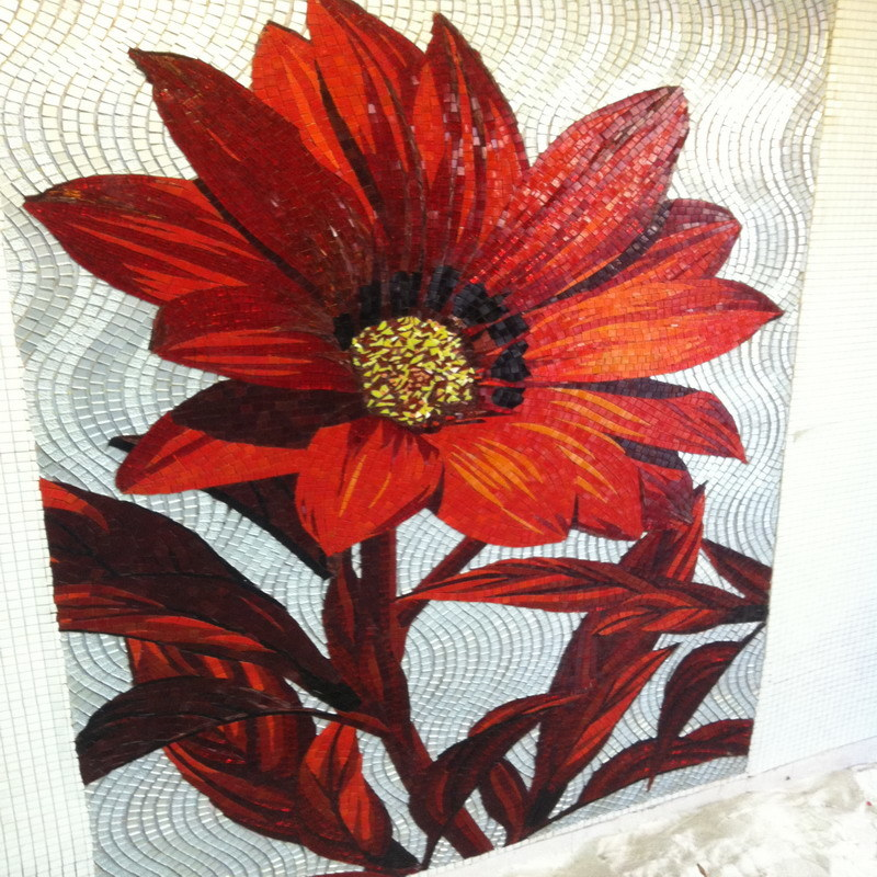 China mural glass mosaic pattern art photos pictures for Mural glass painting