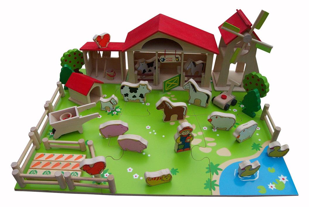 DIY Wooden Play Farm Toys
