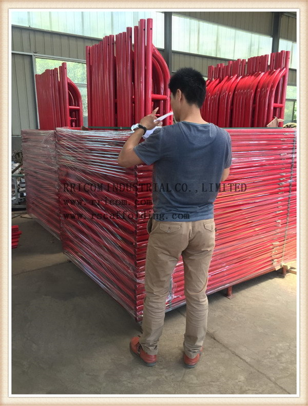 High Quality Painting and Powder Coated Scaffolding Ladder Frames