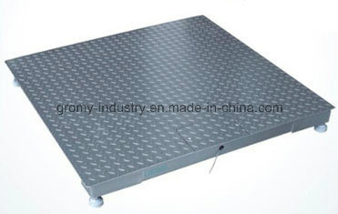 Digital Electronic Platform Weighing 3 Tons Floor Scale for Industrial Use