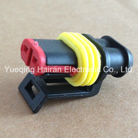 2p Auto Terminal and Plastic Connector 282080-1 (DJ7021-1.5-21)