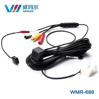 Waterproof OBD Auto Car Rearview Parking Camera with Dynamic Reverse Track
