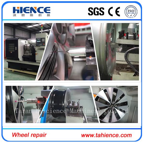 Cheap Mobile Alloy Wheel Repair Lathe Diamond Cutting Wheel Machine Awr28hpc