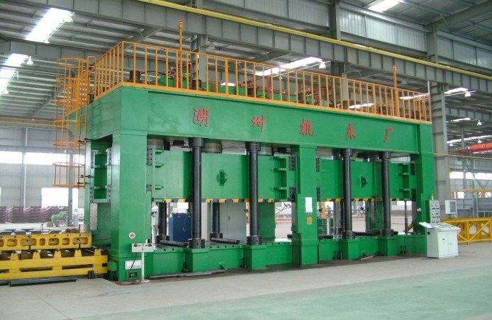 Hj087-2500 Automobile Longitu-De Beam Hydraulic Press