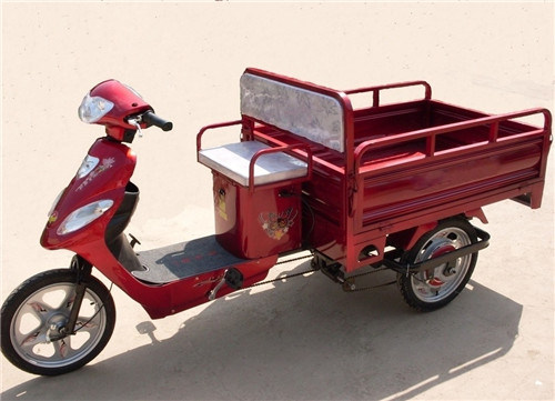 Van Cargo Electric Refrigeration Tricycle