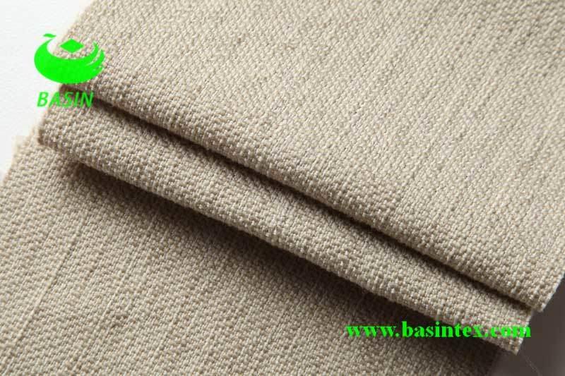 Polyester Linen Sofa Fabric (BS6039)