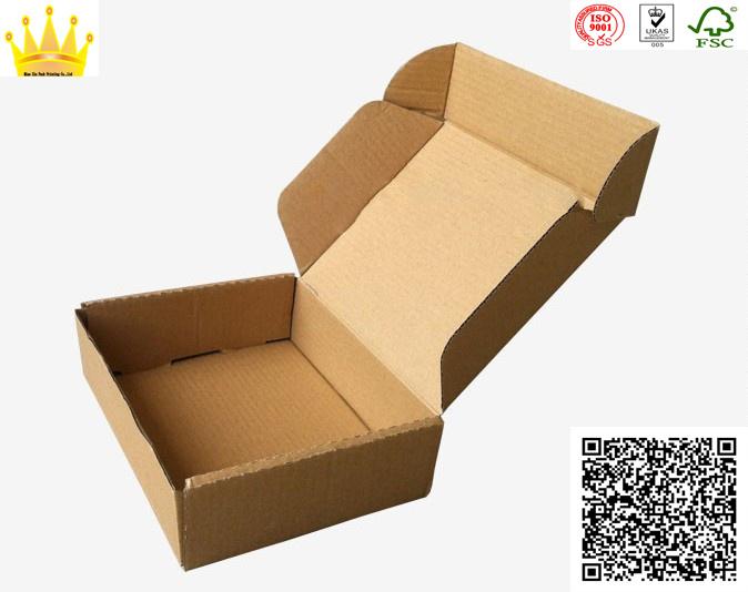 Brown Corrugated Box / Corrugated Carton/ Recyclable Ccnb Bcde Flute Carton