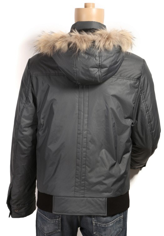 Men's Fur Hood Jacket